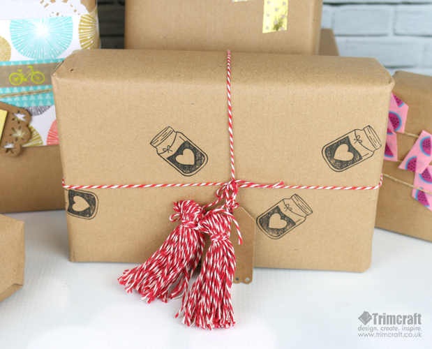 Diy Handmade Gift Wrapping Paper Id The Craft Blog