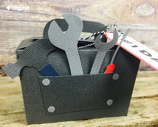 Father's Day Tool Box Gift Box with... | The Craft Blog