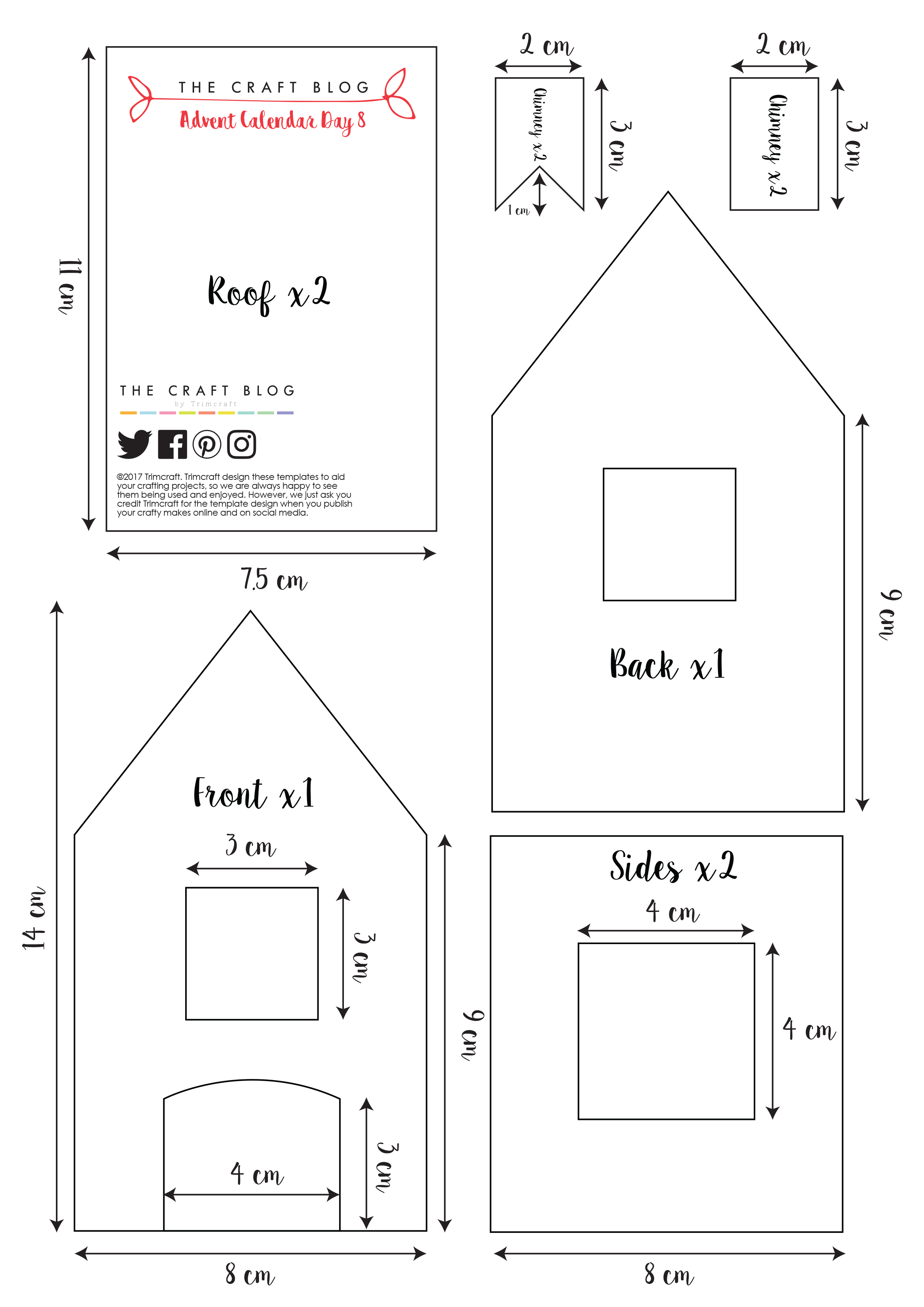 Gingerbread house printable template eliolera gingerbread house printable template eliolera pronofoot35fo Image collections