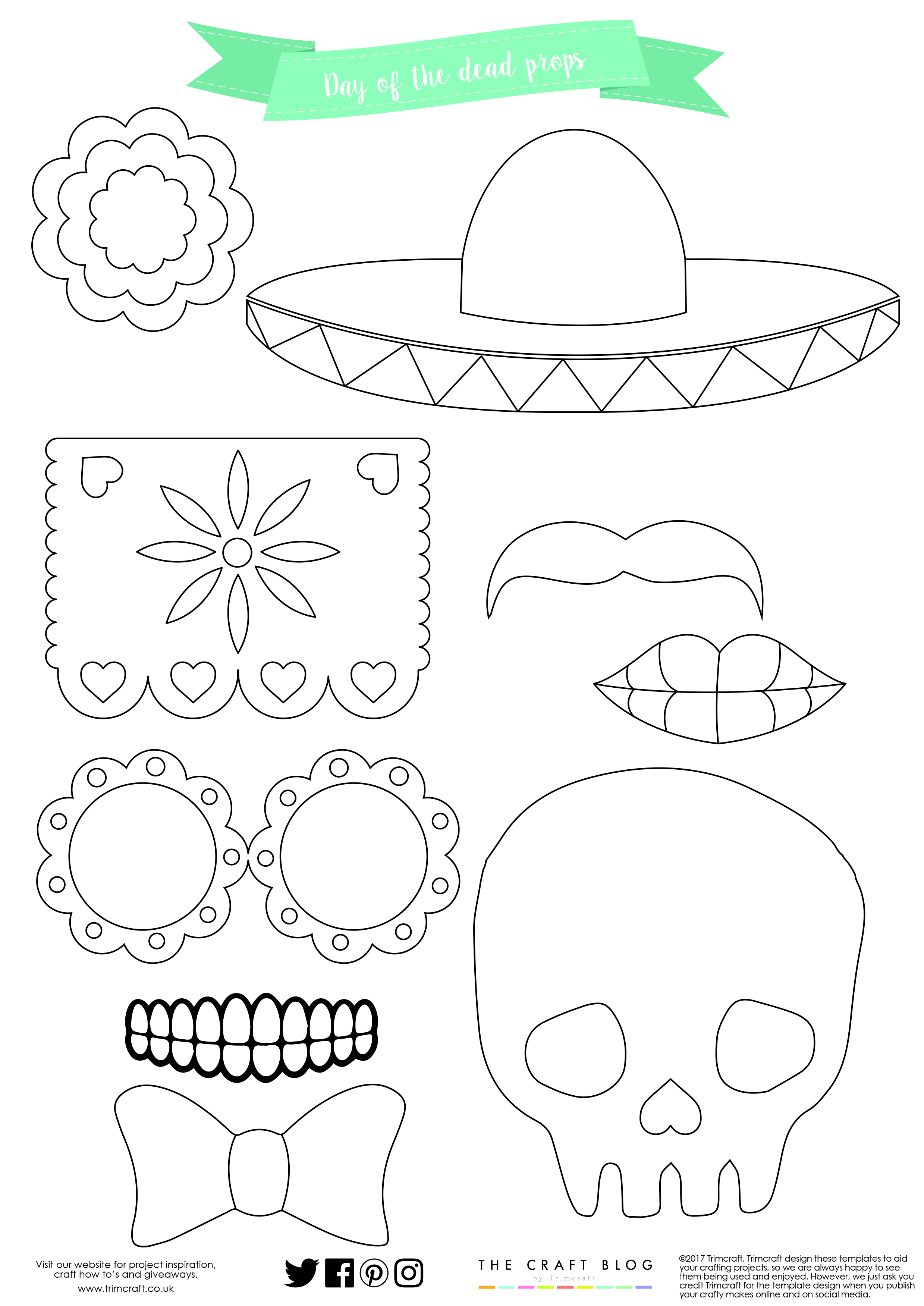 mexican day of the dead party tutor the craft blog