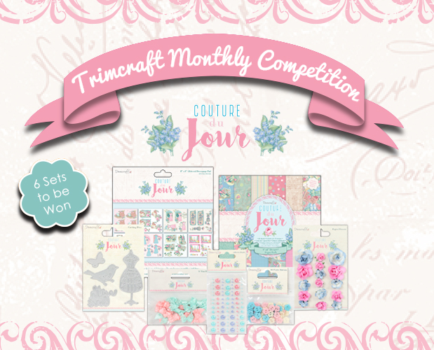 See the Winners of the Dovecraft Couture du Jour Collections, Project of the Month, Craft Challenge and Want it Win it Giveaways! content image
