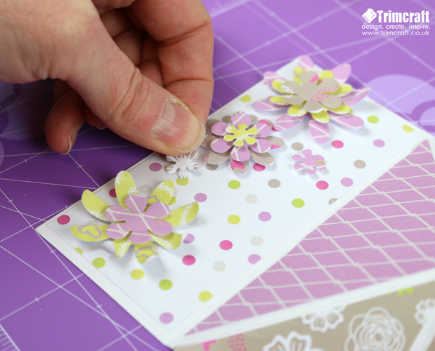 Free Trimcraft Printable Mother's Day Papers with Craft Tutorial content image