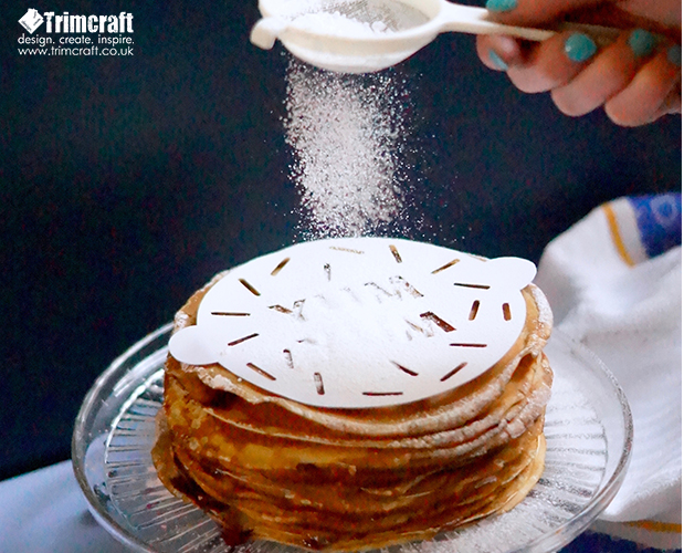 DIY Pancake Day Recipe with Free Duster Template content image