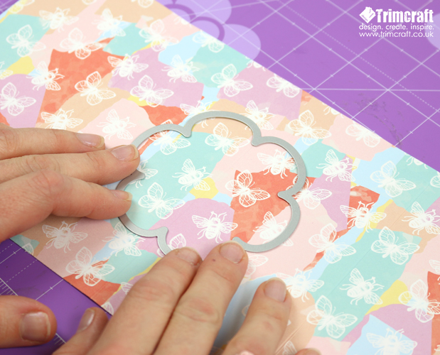 Dovecraft Blooming Lovely Tunnel Card Tutorial content image