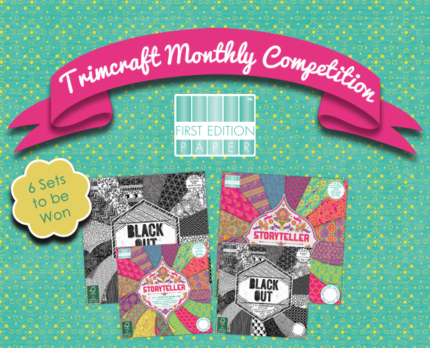 See the Winners of the New First Edition Paper Pads, Project of the Month, Craft Challenge and Want it Win it Giveaway! content image