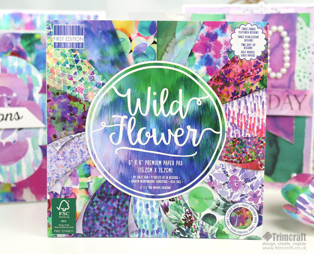 Sneak Peek of the First Edition Wild Flower and Sweet Nothings Paper Pads content image