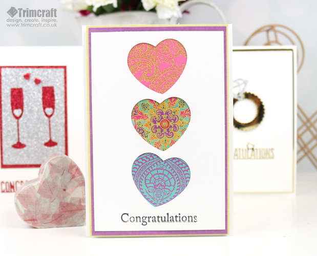 Quick Engagement Card Making Tutorial & Ideas content image